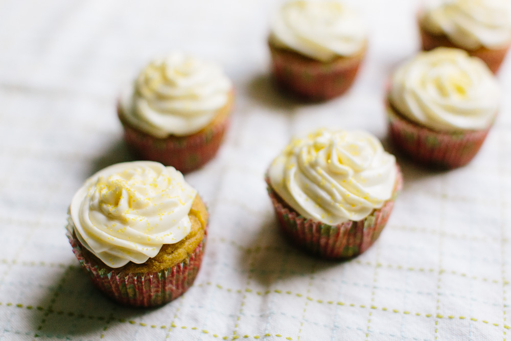 Cardamom Cupcakes with Lemon Cream Cheese Frosting | Becca Bakes (www ...