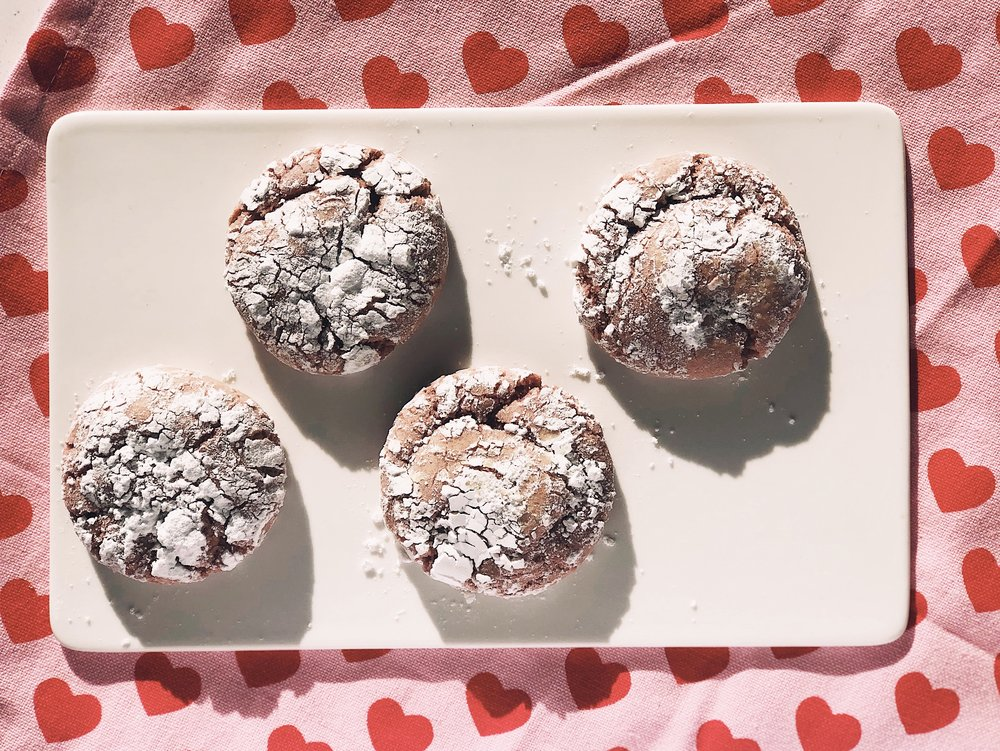 Strawberry Crinkle Cookies | Becca Bakes (www.becca-bakes.com)