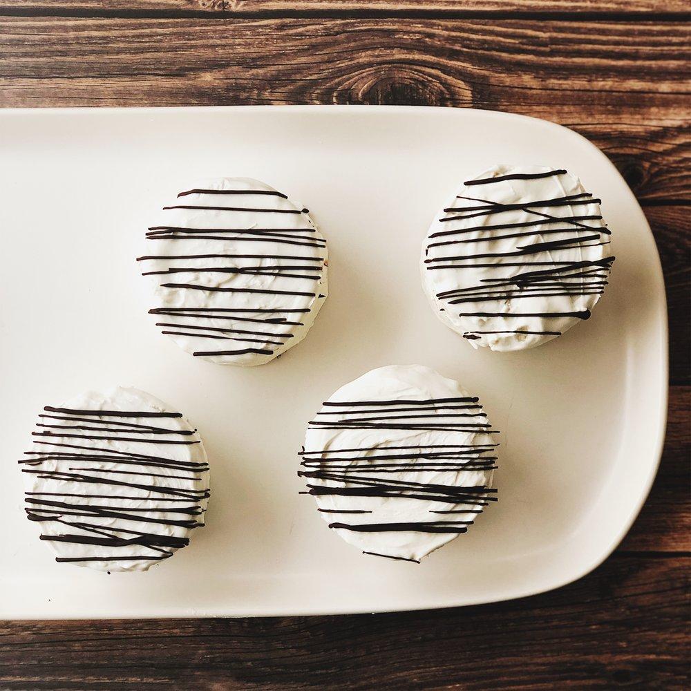 Copy Cat Little Debbie Zebra Cakes | Becca Bakes (www.becca-bakes.com)