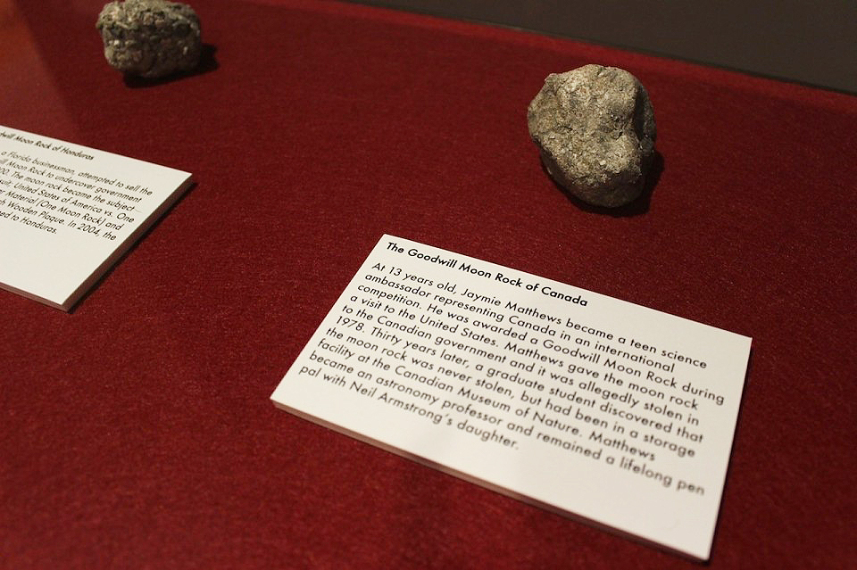 Lauren Davies: The Hall of Faux Moon Rocks.