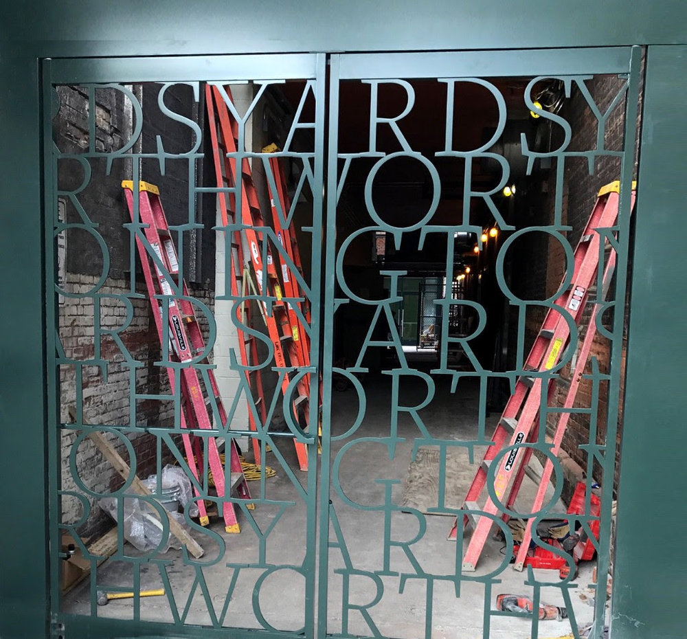 Featured in  Worthington Yards  permanent collection and new Yards Project Space opening on January 18, 2018.    Click here  for details.