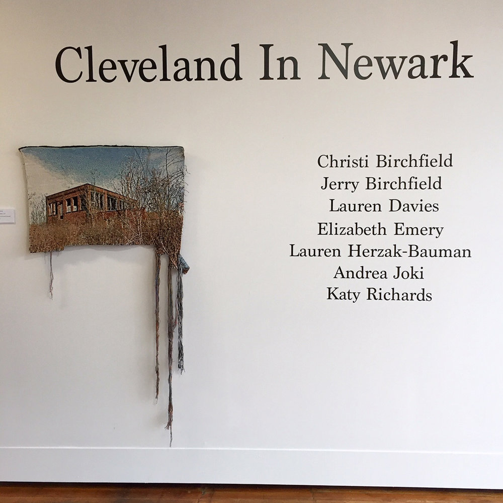 "Featured in  ""Cleveland in Newark""  presented by  Denison University  with an opening on February 17, 2018.   Click here  for details."