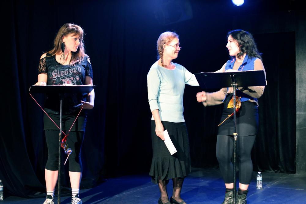 Workshop reading of  Phoenix Rising  by  Laura Gosheff  at The Acorn Theater, NYC