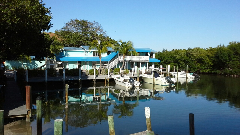 The Boathouse restaurant at the North Captiva Island Club