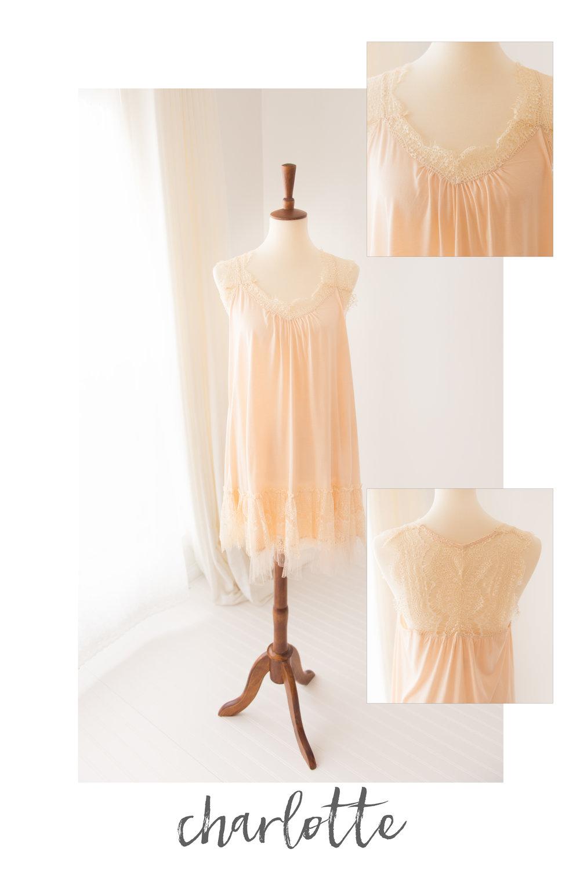 peach dress charlotte