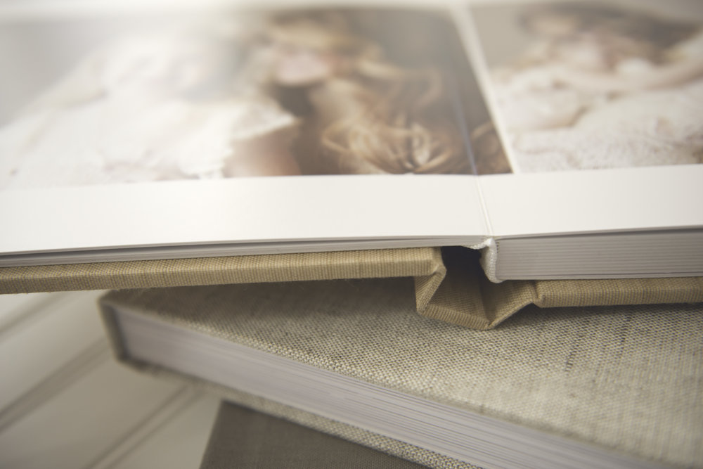 thick page lay flat album