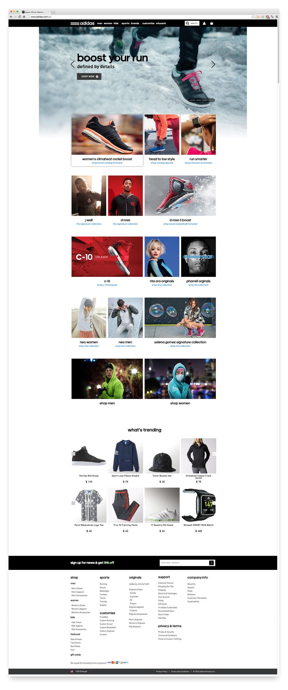 Adidas Campaign Concept