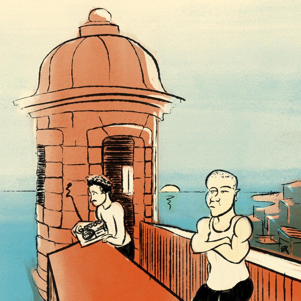 7/31: Calle 13