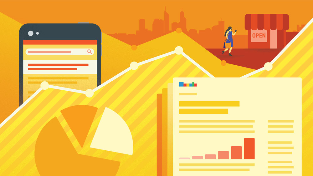 CLIENT:  THINK WITH GOOGLE AUSTRALIA & NEW ZEALAND — Banner illustration