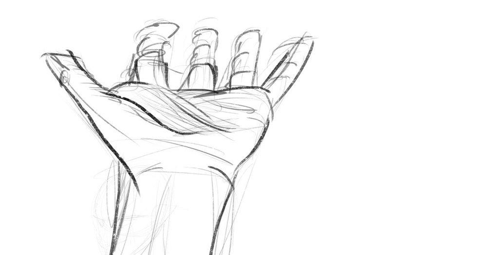 10/18 — Gesture drawing