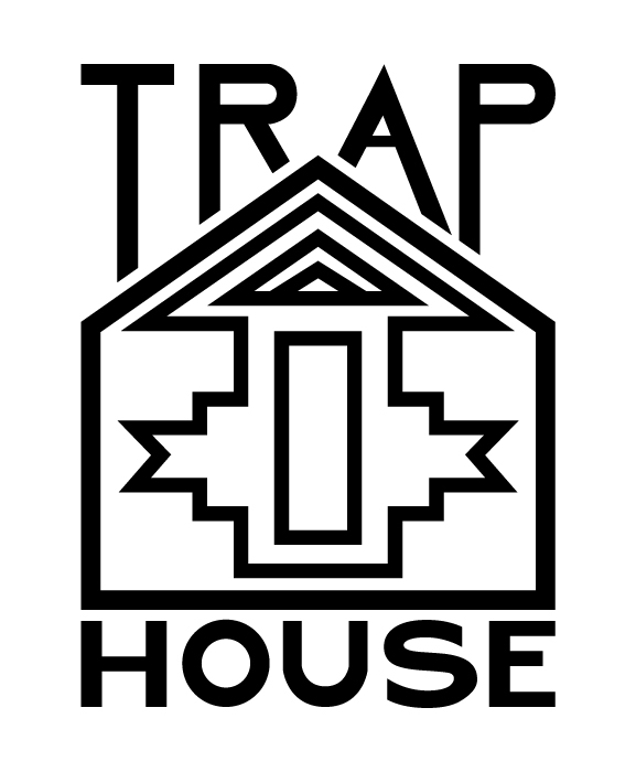 trap house logo ashley rhoden design