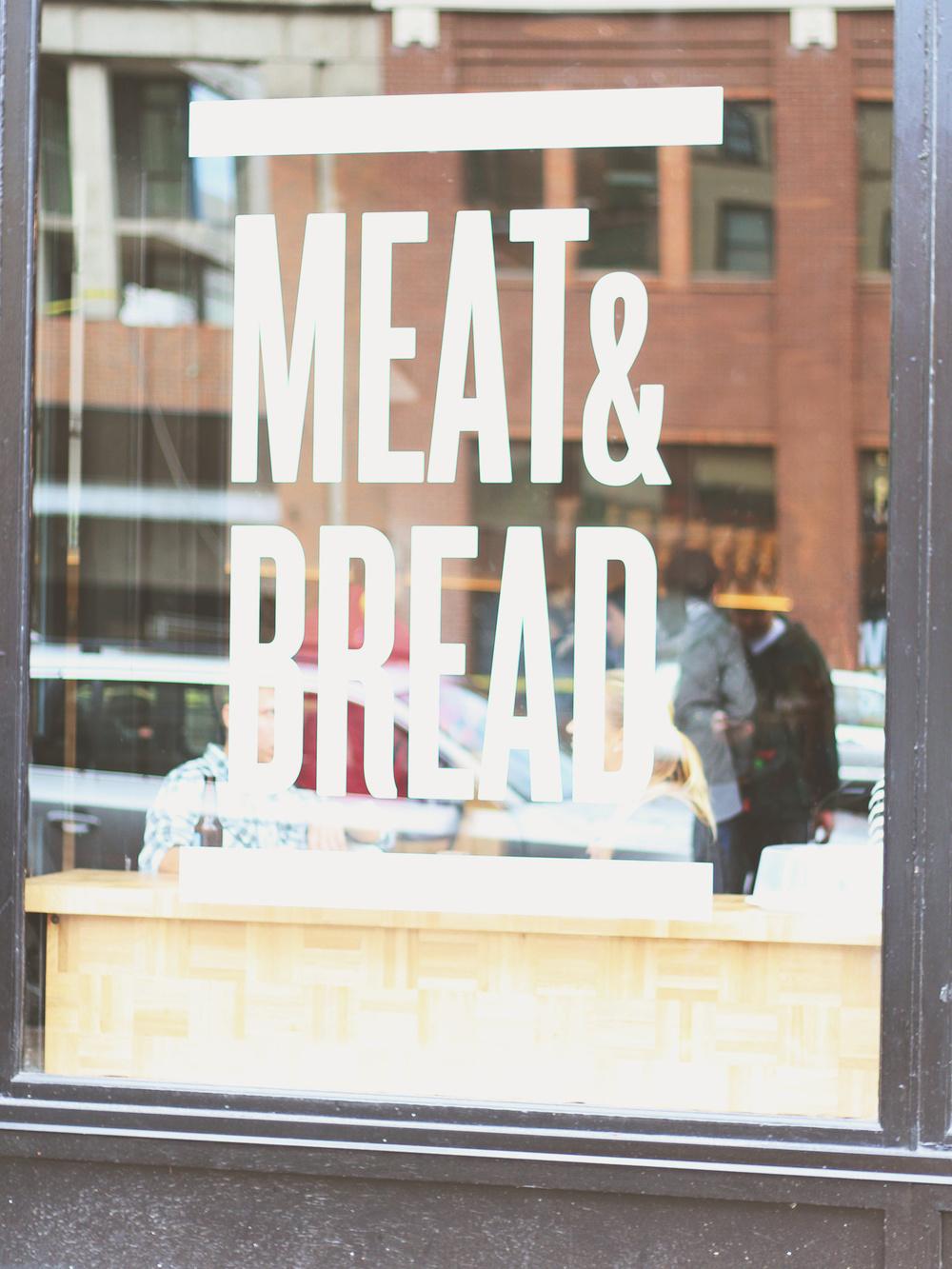 Meat & Bread | S.S. Heart