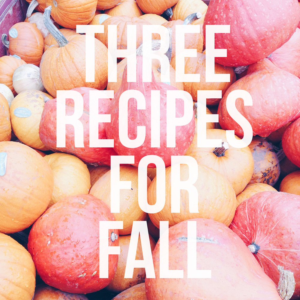 Pumpkin Recipes for fall baking!