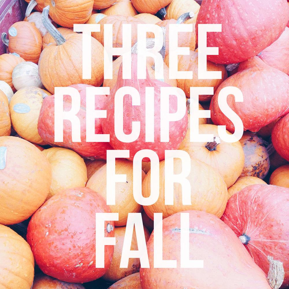 Pumpkin Recipes for fall baking!