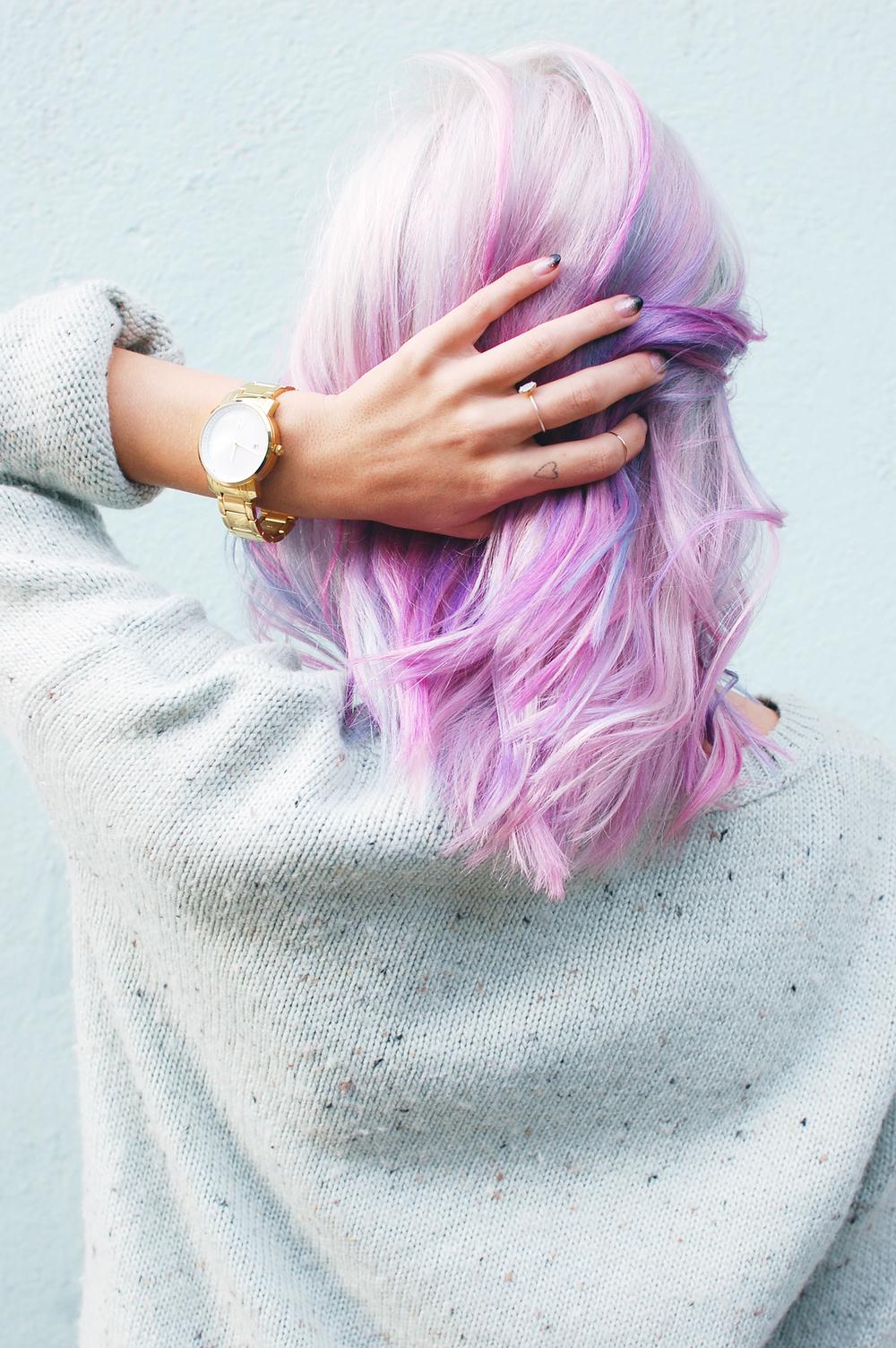 pastel dream hair