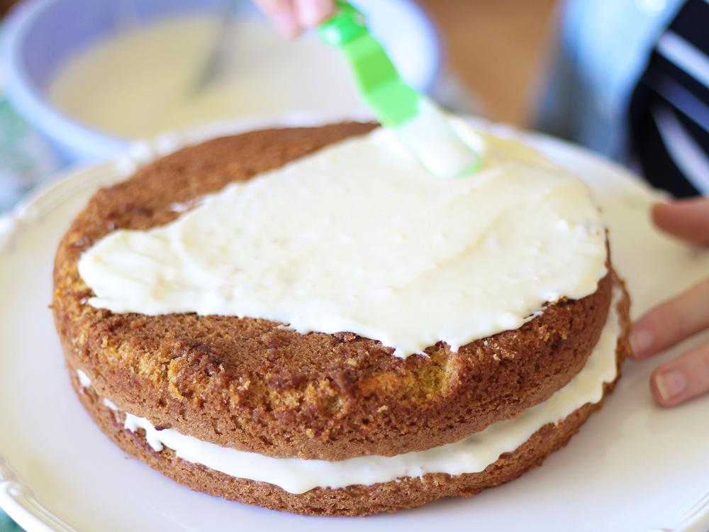 CLASSIC CARROT CAKE!