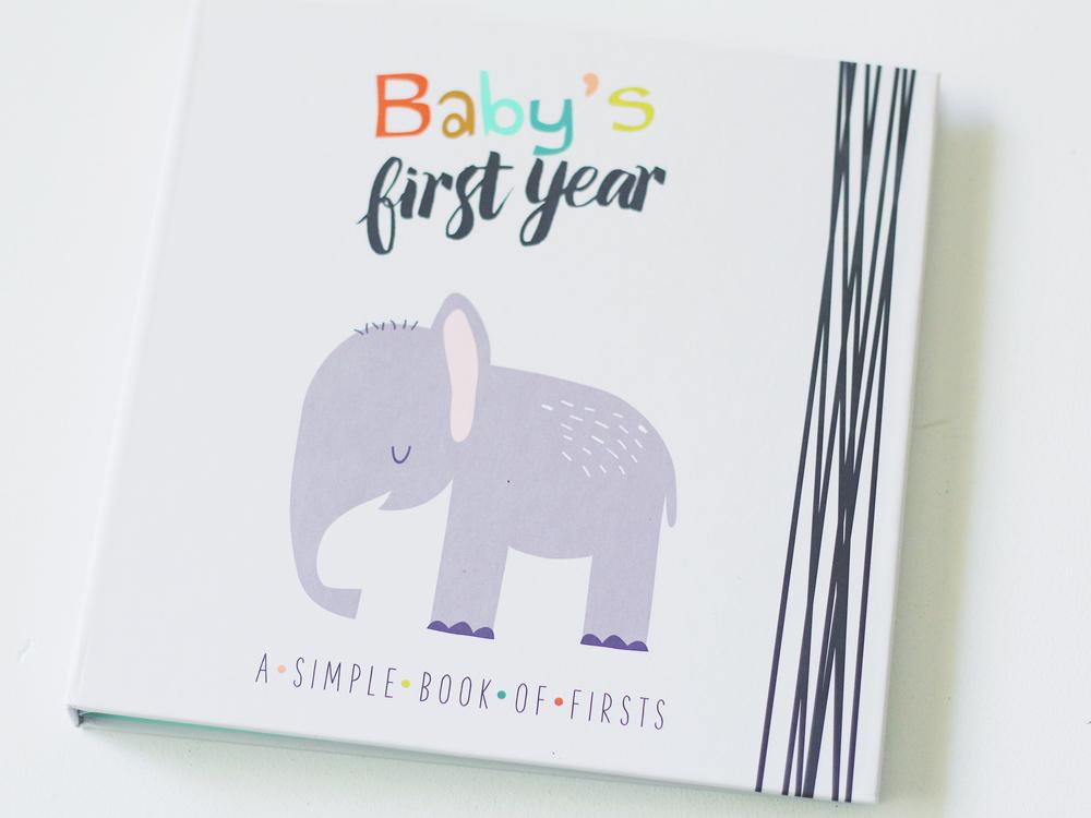 Baby memory book!