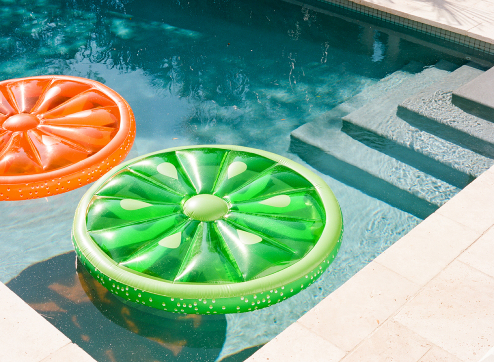 citrus pool float