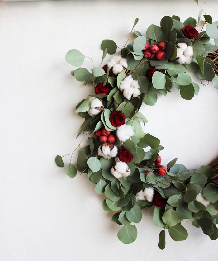 Eucalyptus Holiday Wreath