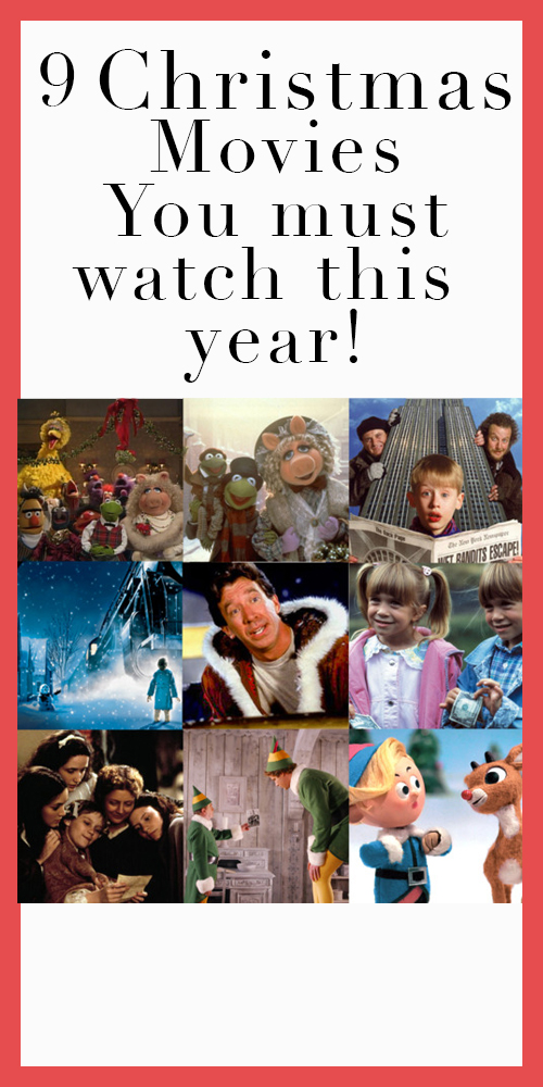 Christmas movies you must watch this year!