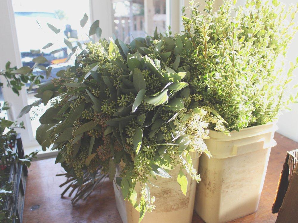 wreath making class