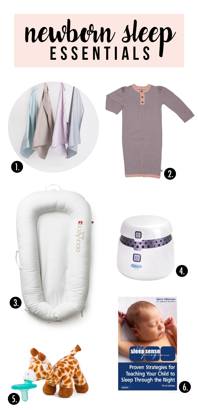 newborn sleep essentials