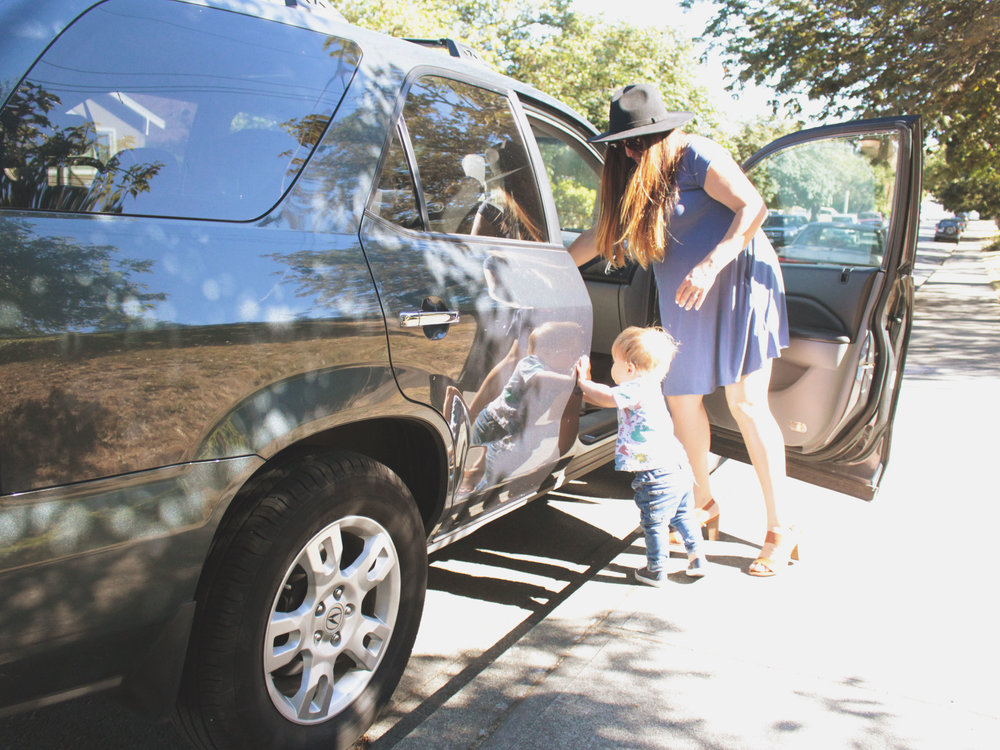 Tips for a summer road trip with a baby!