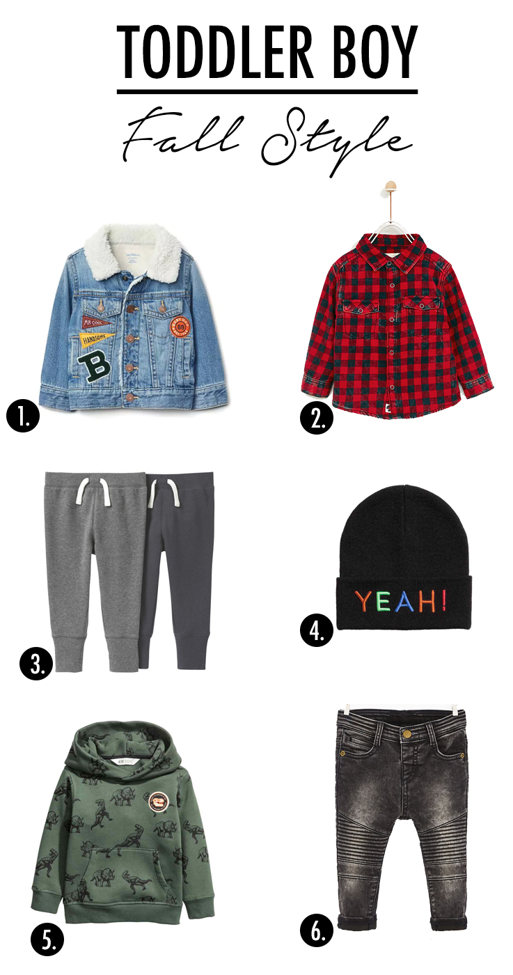 Fall Style Picks for your Toddler Boy!