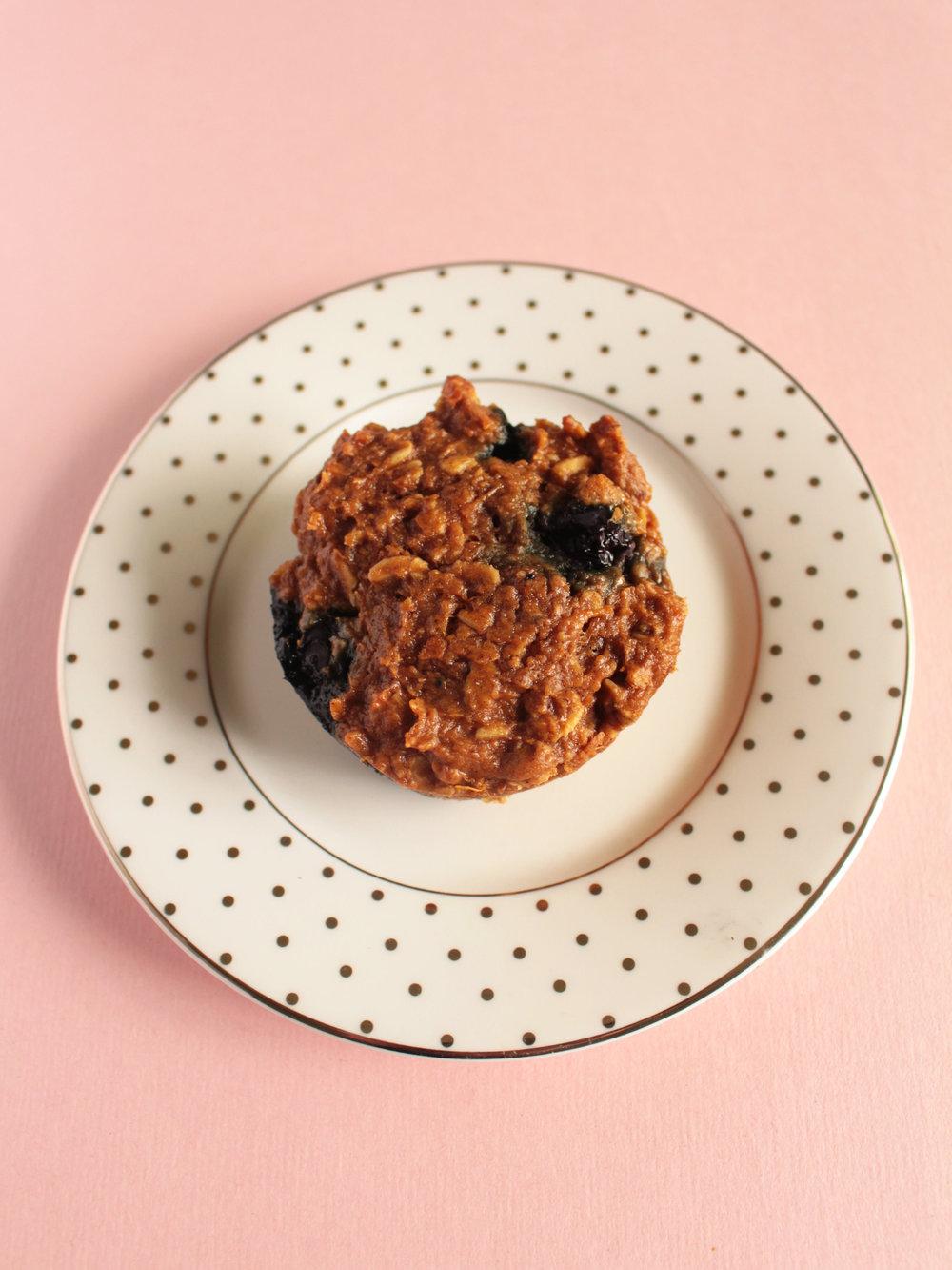 sweet potato blueberry muffins