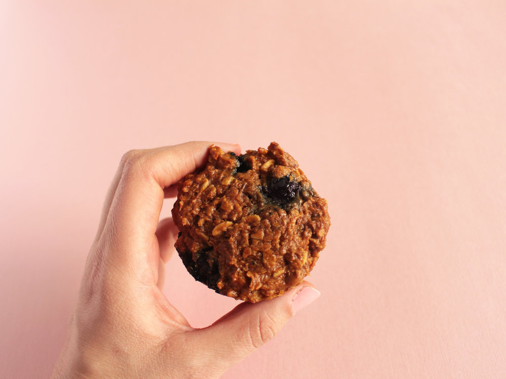 Sweet potato and Blueberry muffin