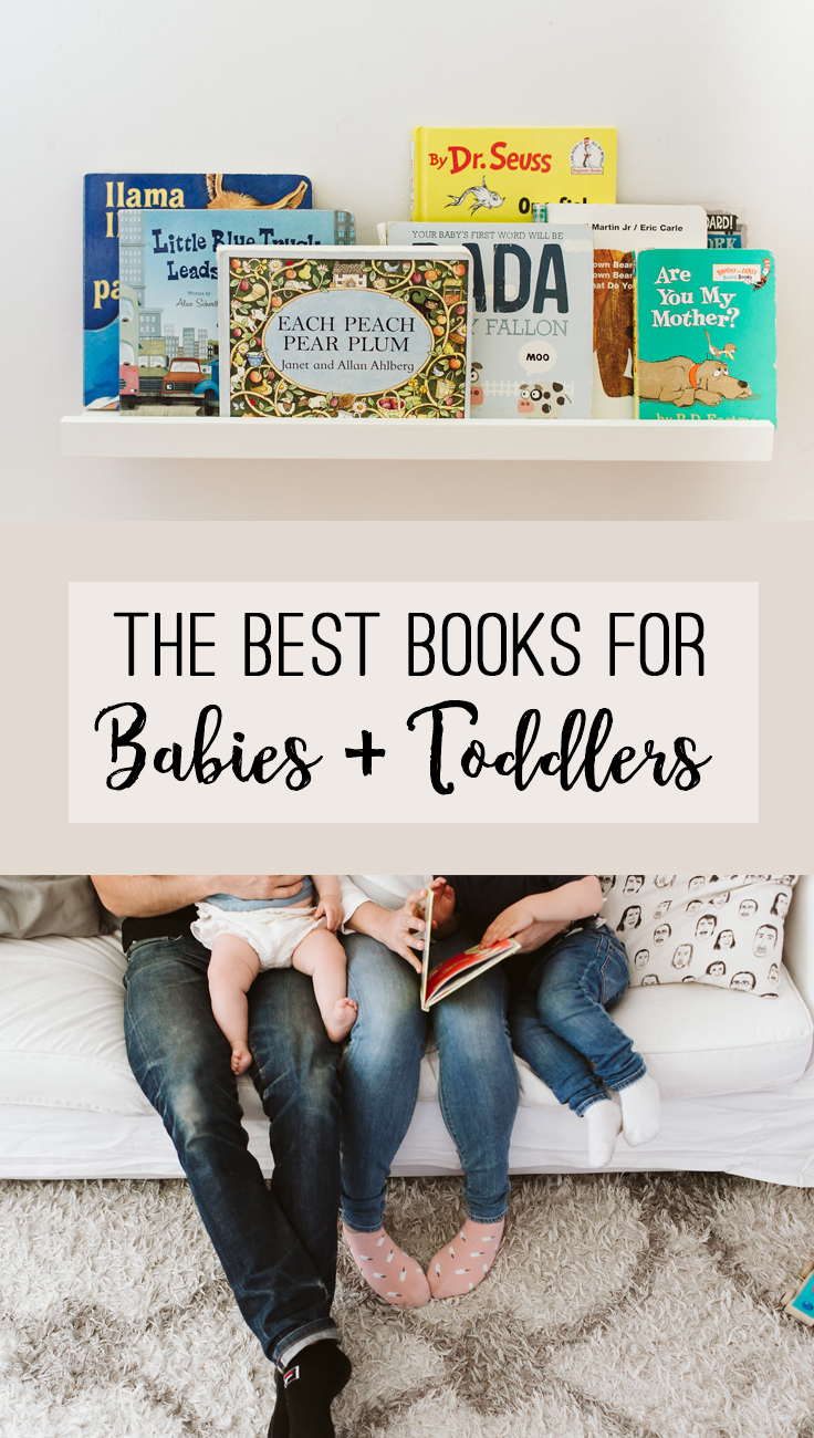 The Best Books for Babies + Toddlers