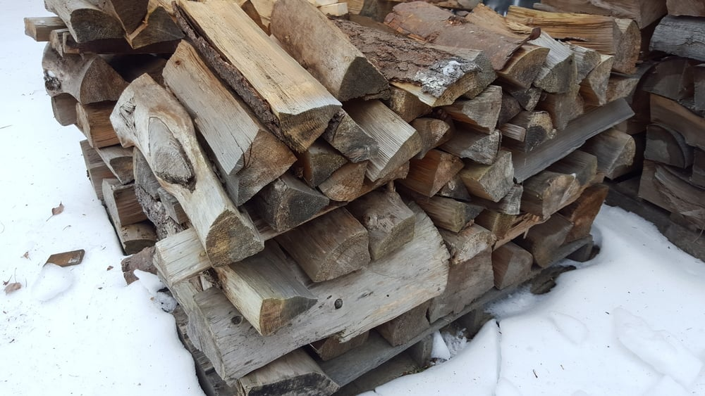 Seasoned Pine Firewood