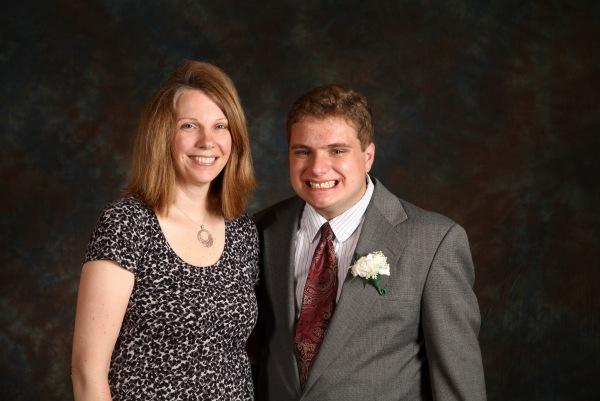 Lori & her son, Kyle
