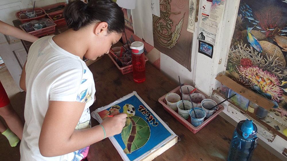 Tioman, Genting, Batik, Painting, Students (3).JPG