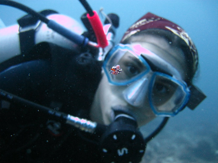 Staff Photo, Diving, Jen with Nudibranch.jpg