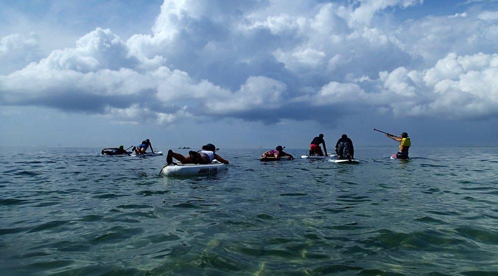 Bali, Paddleboarding Lesson, Sanur, Mangroves, Staff Trip 2014  (2).JPG