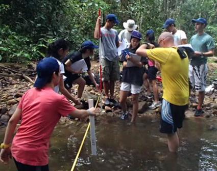Tioman, Freshwater, River Survey, SJII.png