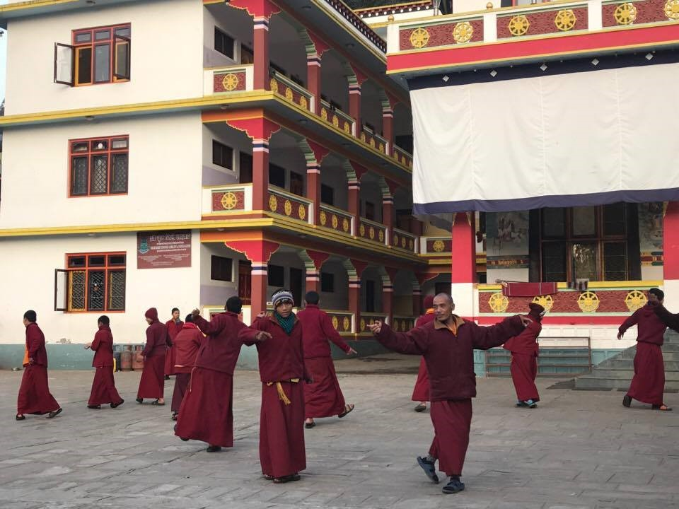 monks nepal