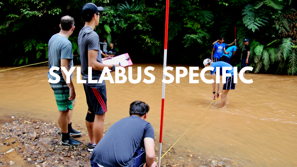Syllabus Specific Field Courses