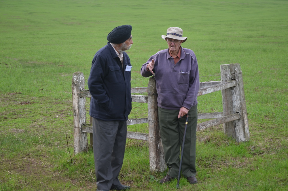 Jim recalls the events leading to Herman Singh's death and subsequent cremation on their farm.