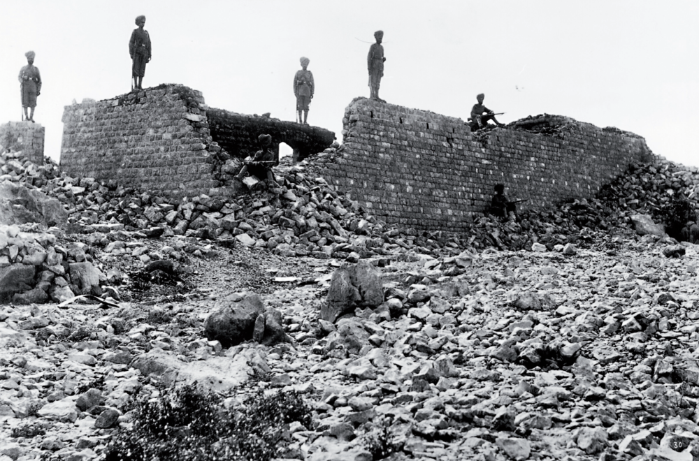 The ruins of Saragarhi.