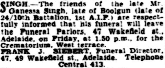 "Article taken from the Friday 2 October 1942 edition of "" The Advertiser"" a newspaper in Adelaide, South Australia. To see original source please click on link below:  http://nla.gov.au/nla.news-article48885441"