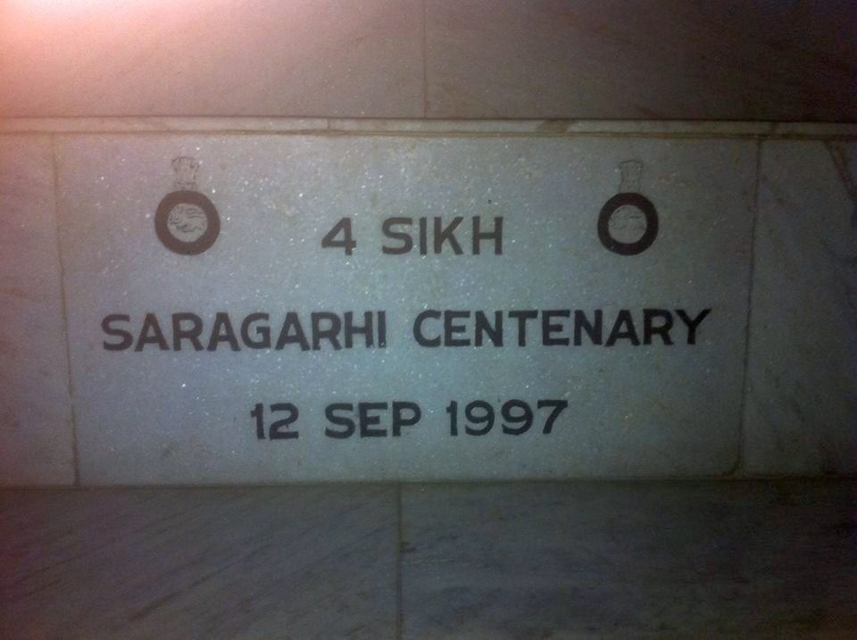 Monument to Havildar Ishar Singh   at his birth place.   Village Jordhan, Tehsil Raikot, D  ist Ludhiana, Punjab.   Photo taken by Rupinder Singh Sran