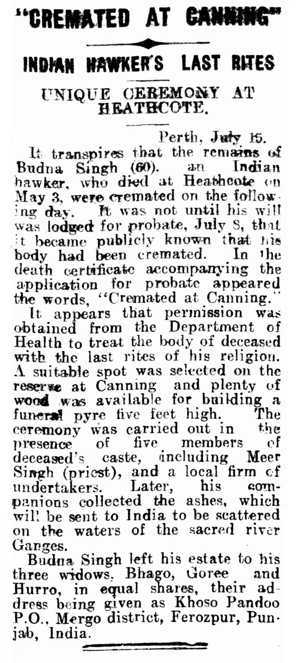 Kalgoorlie Miner (WA : 1895 - 1950), Tuesday 16 July 1929, page 4