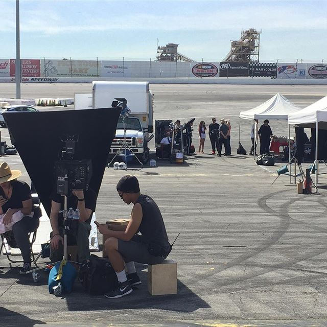 wrapped our shoot in Irwindale. One of my fav cities north of the 605.