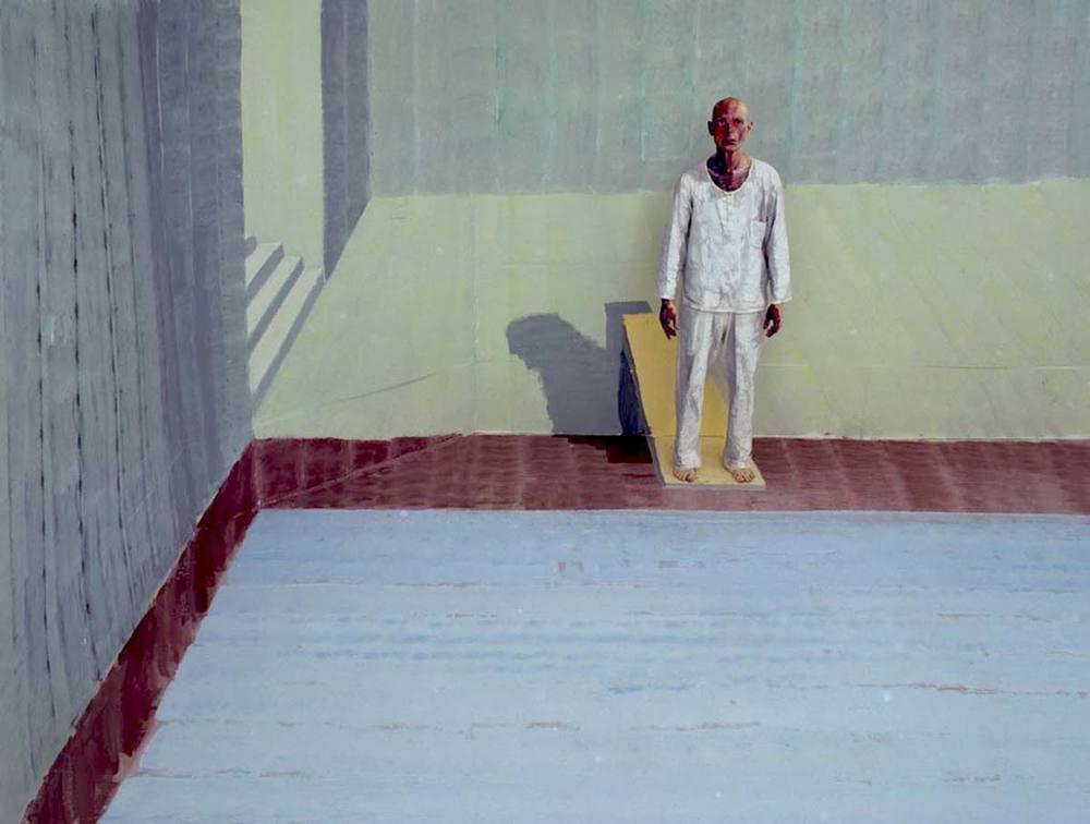 Self-portrait in a Pool    - 2009   Lambda print   Edition: 5+2A.P., Size: 90x120cm