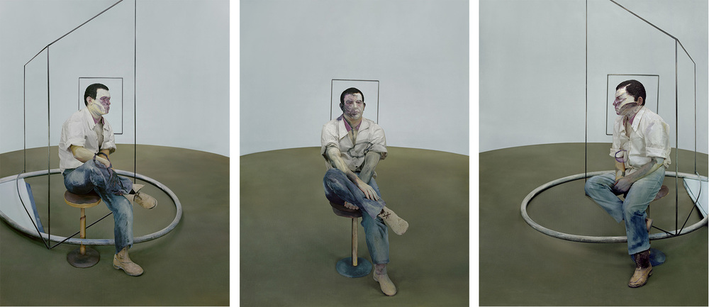 "After ""Three Studies for Portrait of John Edwards""    - 2013  3 Archival Pigment Print Edition: 6+2A.P., Size: 110x82cm each"