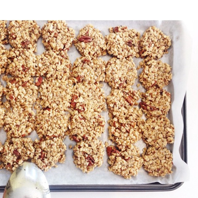 Wishing we had these delicious maple-pecan granola clusters this morning   recipe courtesy of @the.medshed   check out the TIME issue - live in a few weeks!