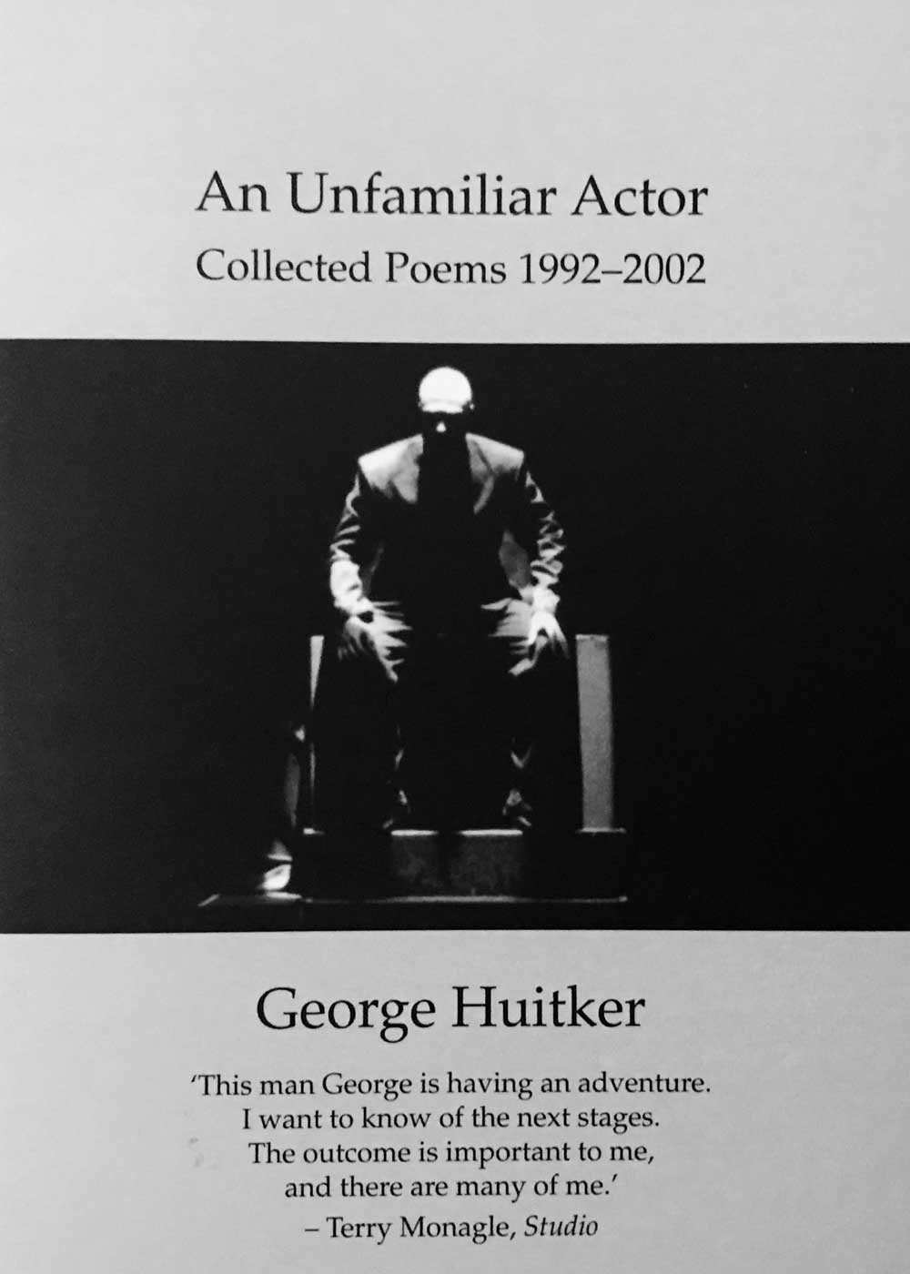 An Unfamiliar Actor book cover.