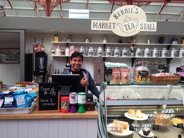 Bernie's Market Tea Stall - CafeTel:Email